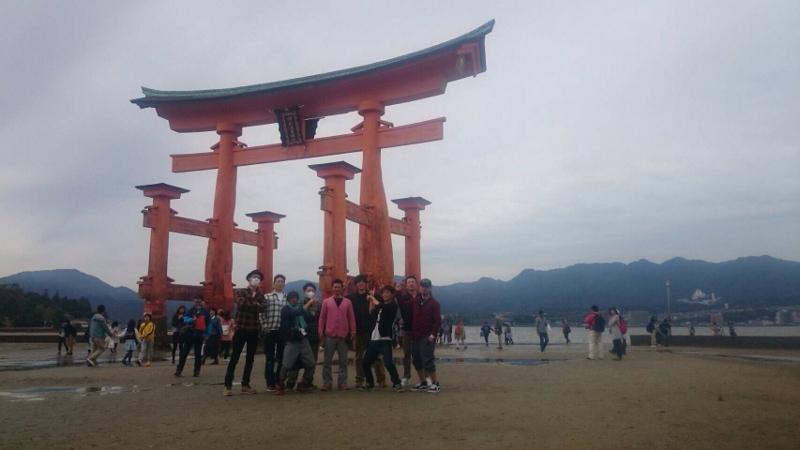 in厳島神社