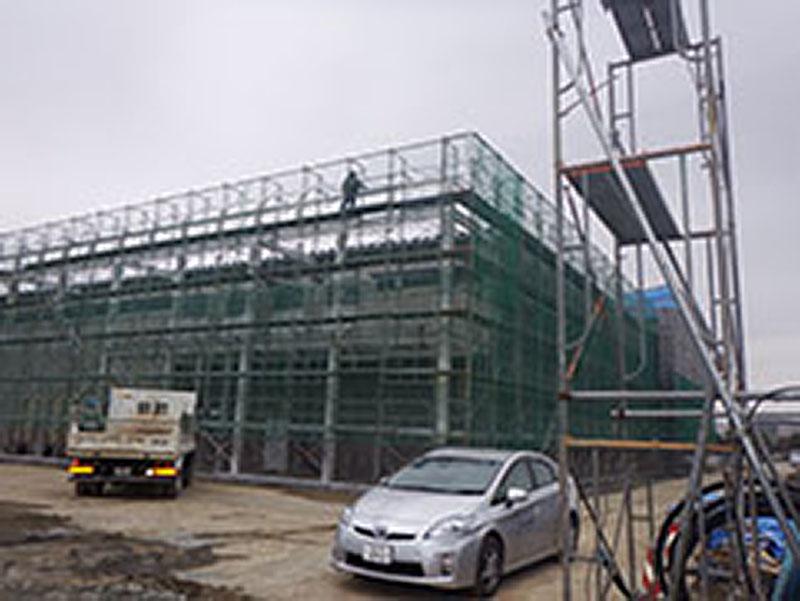 試作研究室棟新築工事